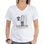 Reverse Centaur Women's V-Neck T-Shirt