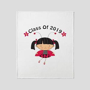 2019 Class Throw Blanket