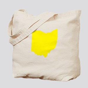 Yellow Ohio Tote Bag