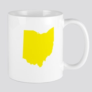 Yellow Ohio Mug