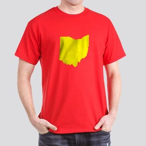 Yellow Ohio Dark T-Shirt