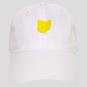 Yellow Ohio Cap