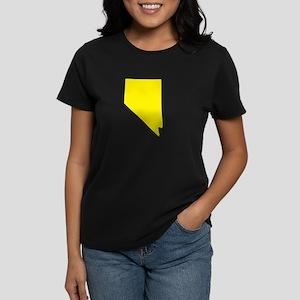 Yellow Nevada Women's Dark T-Shirt