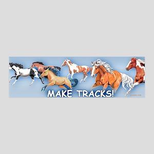 Make Tracks 42x14 Wall Peel