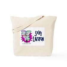 Sexy Librarian Tote Bag