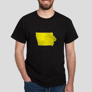 Yellow Iowa Dark T-Shirt