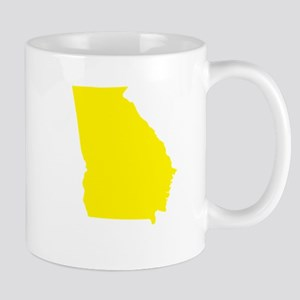 Yellow Georgia Mug