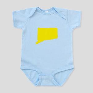 Yellow Connecticut Infant Bodysuit