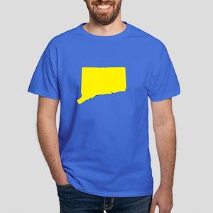 Yellow Connecticut Dark T-Shirt
