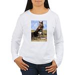 Malamute Sweetness Women's Long Sleeve T-Shirt