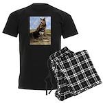 Malamute Sweetness Men's Dark Pajamas