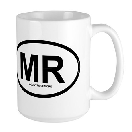 MR - Mount Rushmore Large Mug