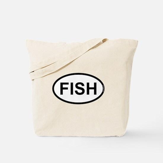 FISH - Fisherman Angler Tote Bag