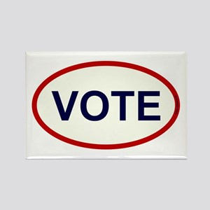 VOTE - Voter Rectangle Magnet