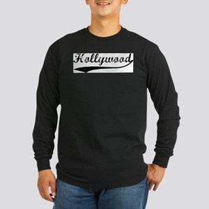 Vintage Hollywood Long Sleeve T-Shirt