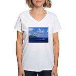 Money Women's V-Neck T-Shirt