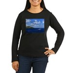 Money Women's Long Sleeve Dark T-Shirt