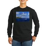 Money Long Sleeve Dark T-Shirt
