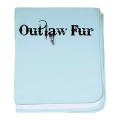 Outlaw Fur baby blanket