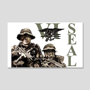 Seal Team VI 22x14 Wall Peel