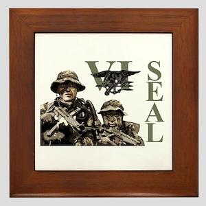 Seal Team VI Framed Tile