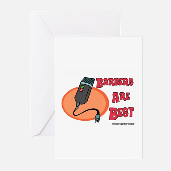 Barbers Are Best Greeting Cards (Pk of 10)
