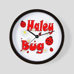 Haley Bug Wall Clock