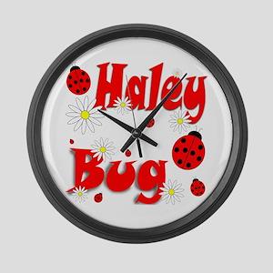 Haley Bug Large Wall Clock