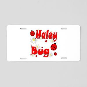 Haley Bug Aluminum License Plate