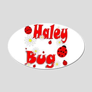 Haley Bug 22x14 Oval Wall Peel