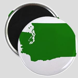 Green Washington Magnet