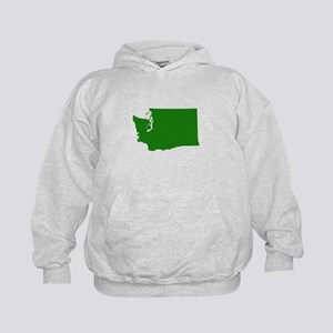 Green Washington Kids Hoodie