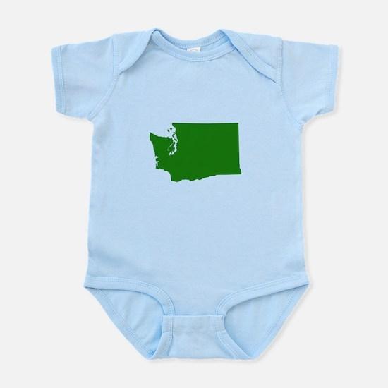 Green Washington Infant Bodysuit