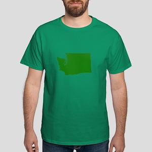 Green Washington Dark T-Shirt
