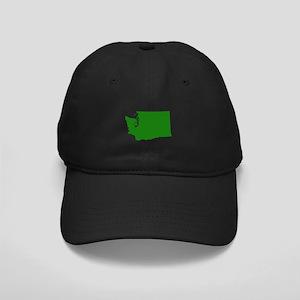 Green Washington Black Cap
