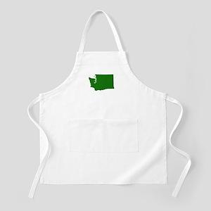 Green Washington Apron