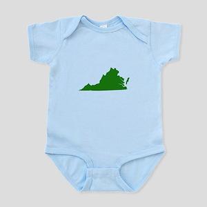 Green Virginia Infant Bodysuit