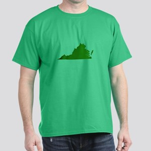 Green Virginia Dark T-Shirt