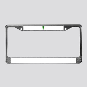 Green Vermont License Plate Frame