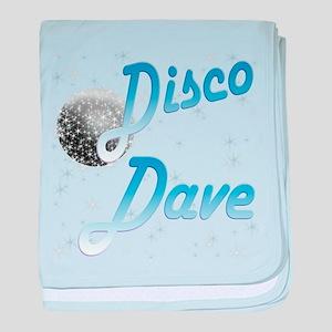 Disco Dave baby blanket