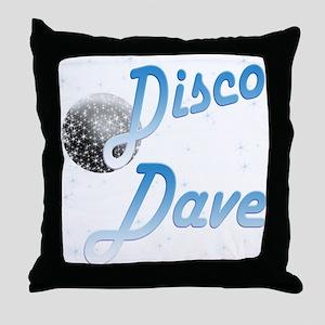 Disco Dave Throw Pillow