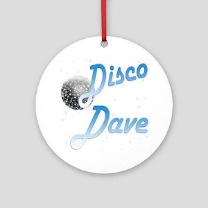 Disco Dave Ornament (Round)