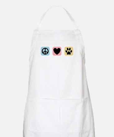 Peace Love Pets [i] Apron