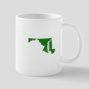 Green Maryland Mug