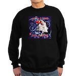 Cat Pisces Sweatshirt (dark)