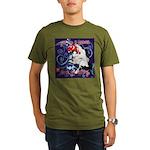 Cat Pisces Organic Men's T-Shirt (dark)