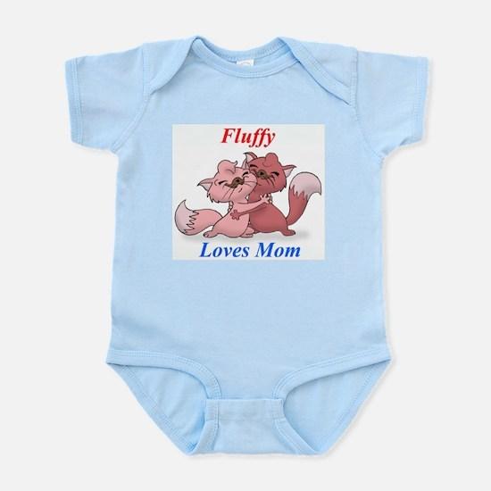 FluffyLovesMom Infant Creeper