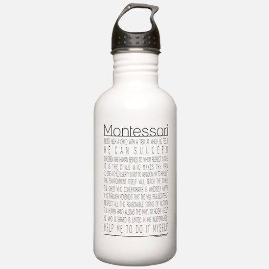 Maria Montessori Quotes Water Bottle