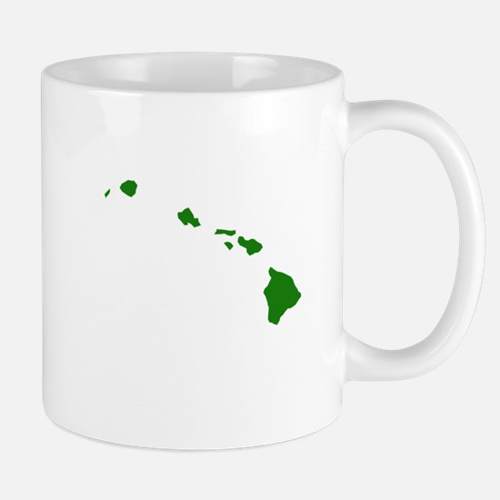 Green Hawaii Mug