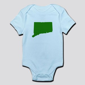 Green Connecticut Infant Bodysuit
